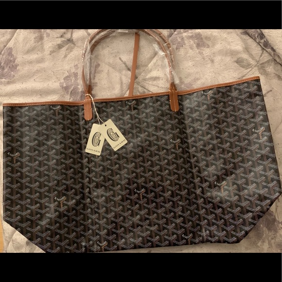 Goyard Bags Saint Louis Gm Tote In Classic Color Poshmark
